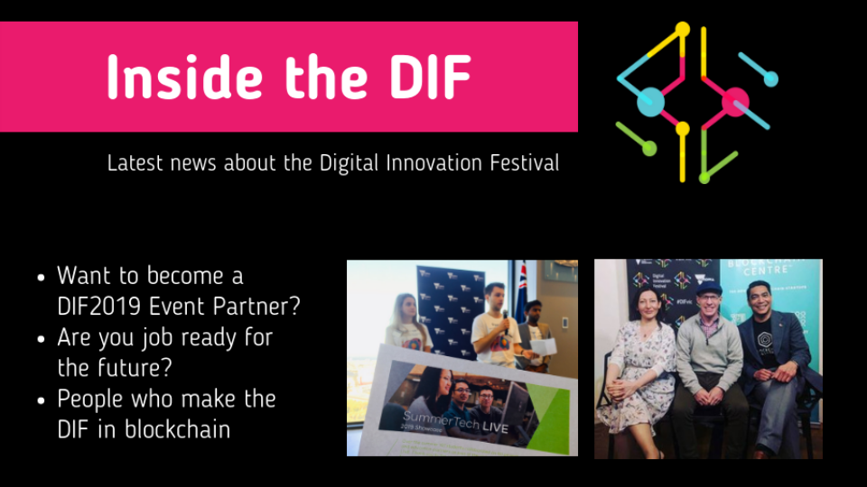 Inside the DIF - Future jobs and Blockchain DIFvicChampion