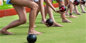2020 Maribyrnong Get Active! Expo - Barefoot Bowls 'come & try' (Footscray)