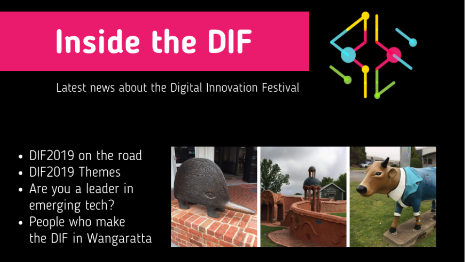 Inside the DIF - DIF2019 on the road