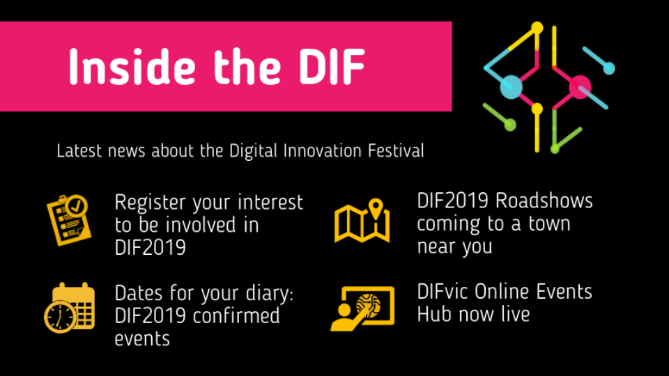 Inside the DIF - DIF2019 is here