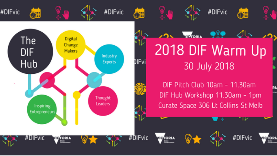 You're Invited to the 2018 DIF Warm Up